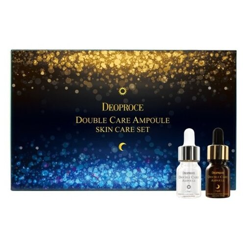 Сыворотка Deoproce Double Care Ampoule Set Day & Night (20х13г)