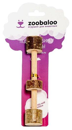 Игрушка для грызунов Zoobaloo Гантель малая 10см