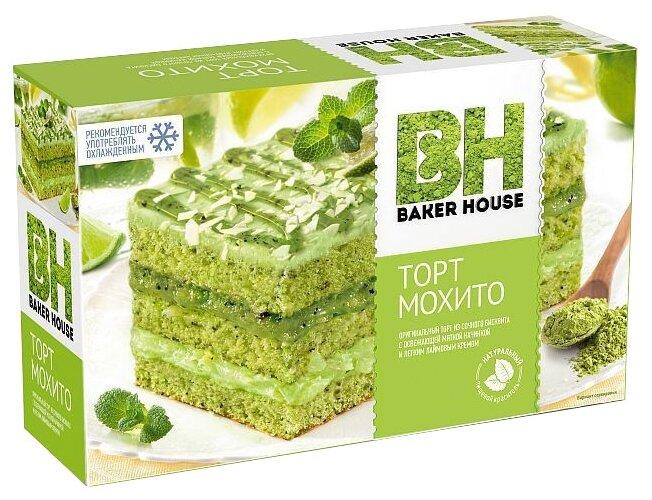 Торт бисквитный Baker House Мохито 350г