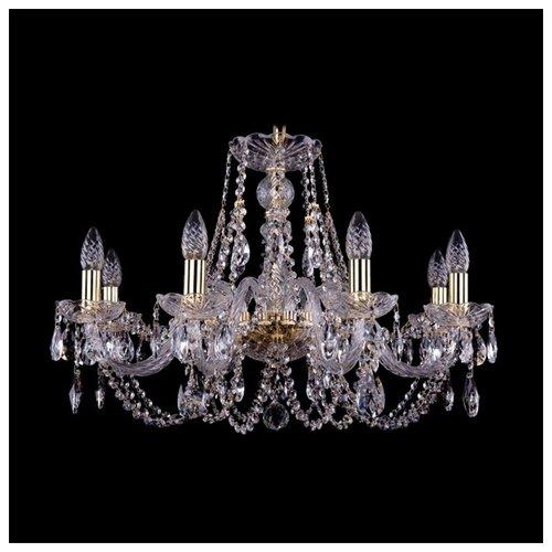 Люстра Bohemia Ivele Crystal 1406 1406/8/240/G, E14, 320 Вт