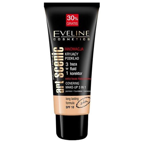 Фото - Eveline Cosmetics Тональный крем Art Scenic Professional Make Up, 30 мл, оттенок: пастельный eveline cosmetics тональный крем art scenic professional make up 30 мл оттенок пастельный