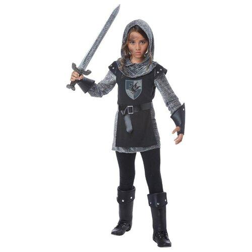 Купить Костюм California Costumes Благородный рыцарь 00574, серый/черный, размер XL (12-14 лет), Карнавальные костюмы