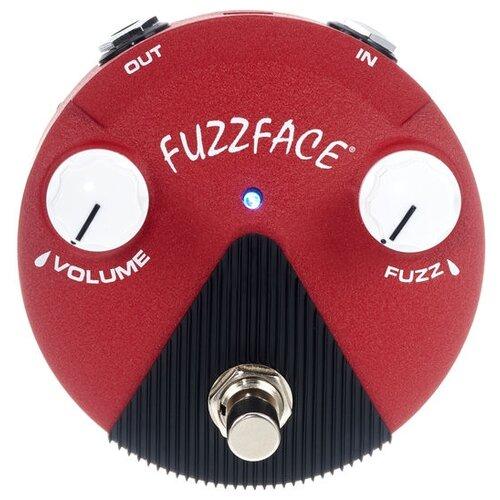 Dunlop педаль FFM6 Band of Gypsys Fuzz Face Mini Distortion dunlop ffm4 joe bonamassa fuzz face mini distortion limited edition pedal