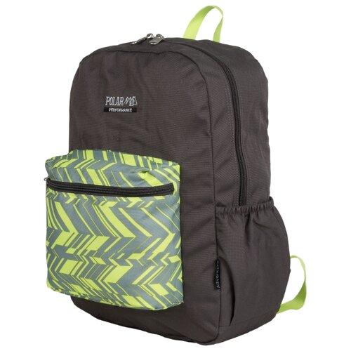 Рюкзак POLAR П2199 (серый/зеленый)Рюкзаки<br>