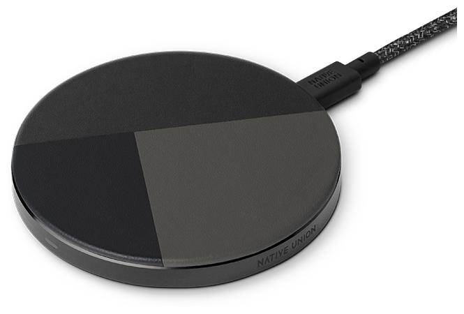 Беспроводная сетевая зарядка Native Union Drop Marquetry Wireless Charger
