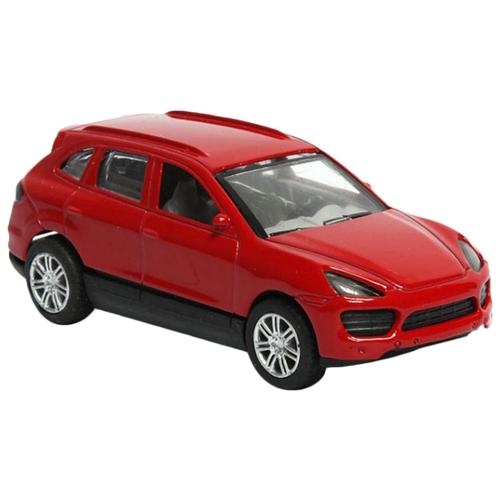 Купить Легковой автомобиль Handers Porsche Cayenne (HAC1602-004) 1:43 14 см красный, Машинки и техника