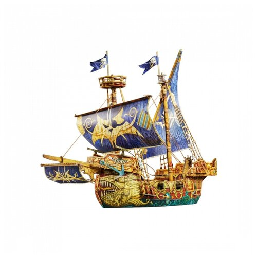 Купить Сборная модель Умная Бумага Пиратский корабль (550), Сборные модели