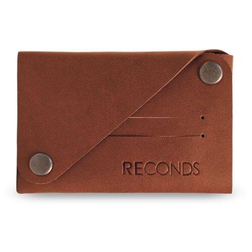 Кошелек Reconds Сompact, натуральная кожа коньяк кошелек reconds reconds mp002xu02f9z