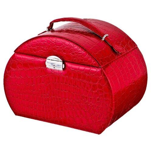 цена Lefard Шкатулка для украшений, 362-105 красный онлайн в 2017 году