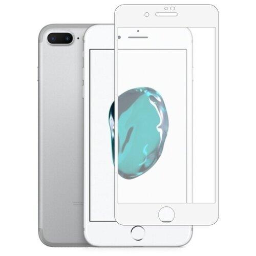 цена на Защитное стекло Defensa 5D для Apple iPhone 7 Plus/iPhone 8 Plus белый/прозрачный