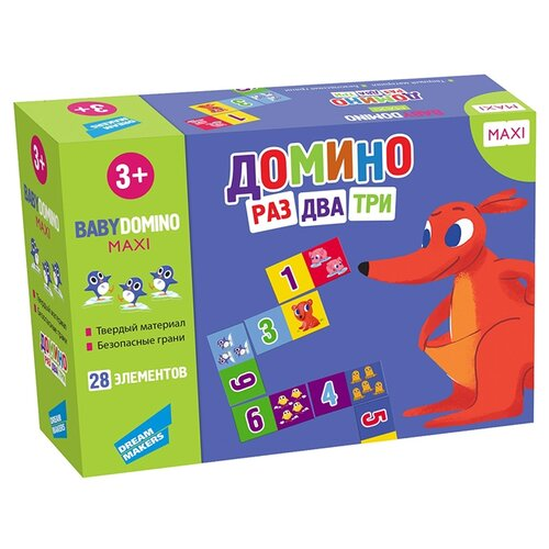 Купить Настольная игра Dream Makers Домино Раз, два, три, Настольные игры