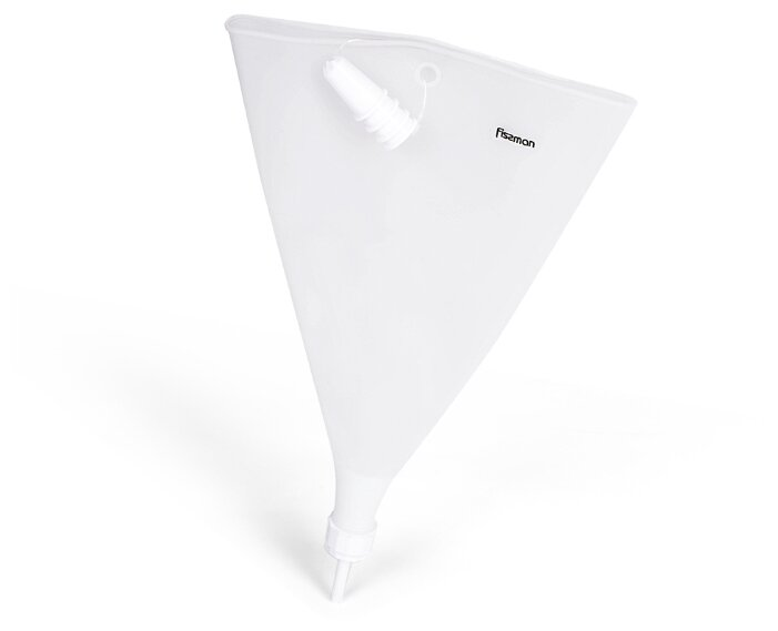 Кондитерам Fissman Мешок кондитерский 29x21см с 4 насадками (силикон)
