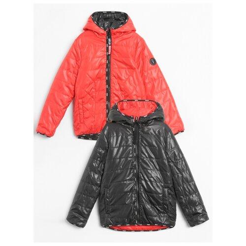 Куртка COCCODRILLO FAST W20152501FAS размер 128, красный/черный
