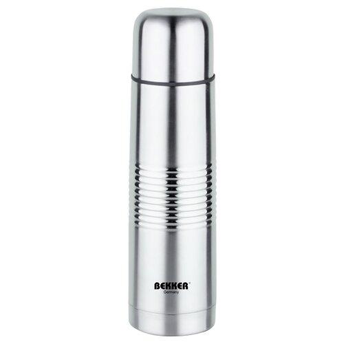 Классический термос Bekker BK-83, 1 л серебристый