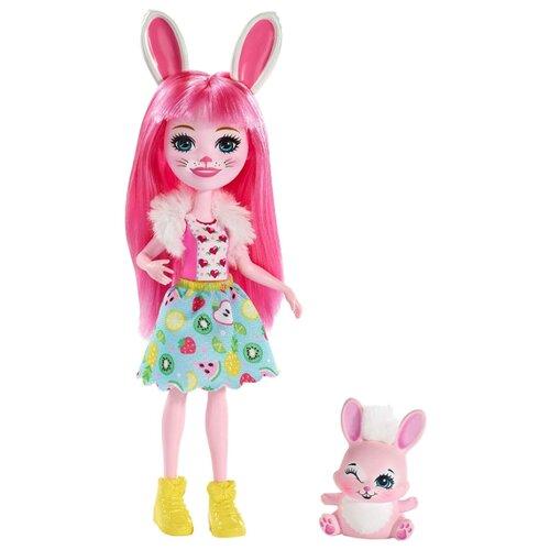 Купить Кукла Enchantimals Бри Кроля с любимой зверюшкой, 15 см, FXM73, Куклы и пупсы
