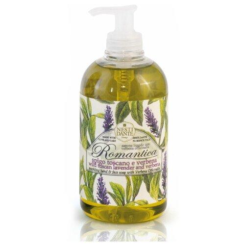 Мыло жидкое Nesti Dante Romantica Wild Tuscan Lavender and Verbena, 500 мл