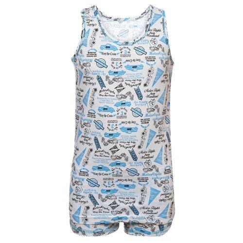 Купить Комплект нижнего белья M&D размер 134, голубой, Белье и пляжная мода