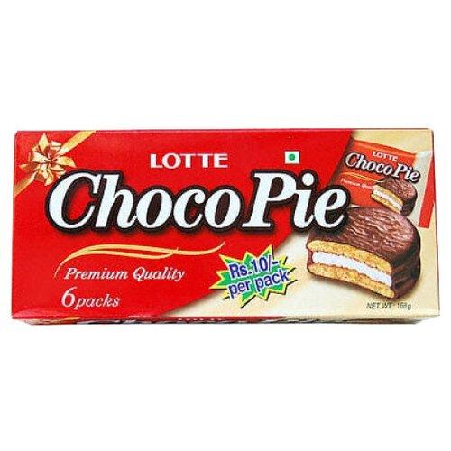 Пирожное Lotte Confectionery Choco Pie 168 г