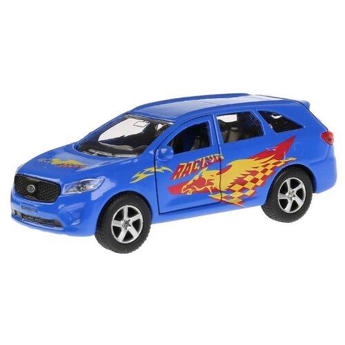 Купить Легковой автомобиль ТЕХНОПАРК Kia Sorento Prime Спорт (SB-17-75-KS-S-WB) 12 см синий, Машинки и техника