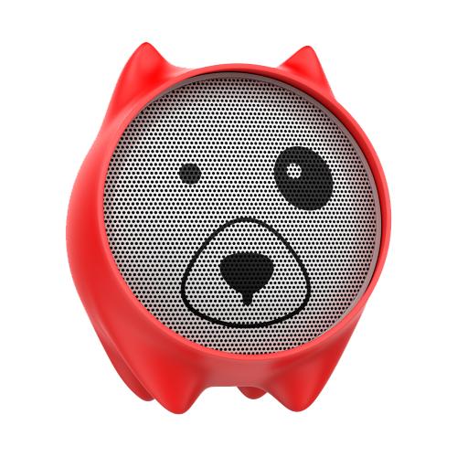Портативная акустика Baseus Dogz red
