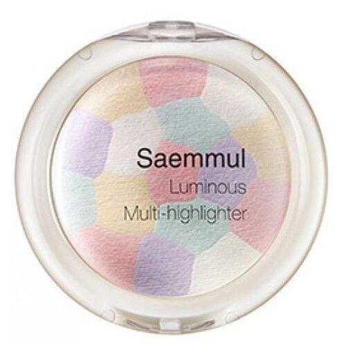 Купить The Saem Saemmul Хайлайтер Luminous Multi-highlighter 01 Pink White