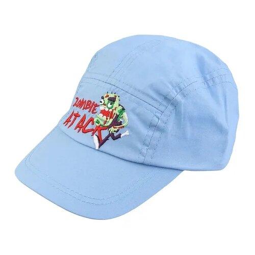 Купить Бейсболка Be Snazzy размер 48, голубой, Головные уборы