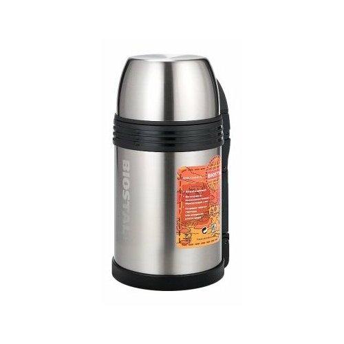 Классический термос Biostal NGP-1200P, 1.2 л серебристый