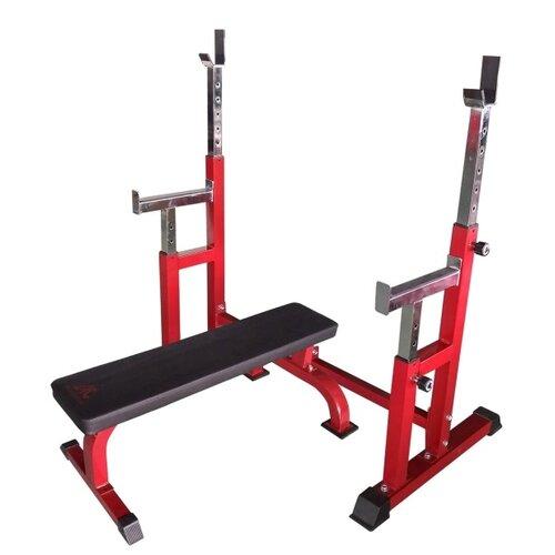 Комплект DFC скамья и стойка DZ005FB красный/черный