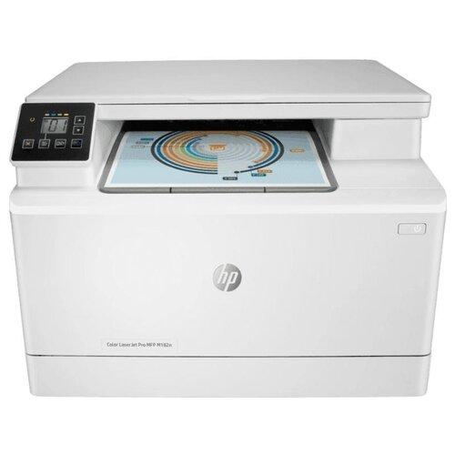 Фото - МФУ HP Color LaserJet Pro MFP M182n белый мфу hp color laserjet pro m479fnw mfp
