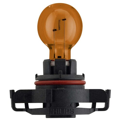 Фото - Лампа автомобильная накаливания Philips Standard Yellow 12188NAC1 PSY24W (PG20/4) 12V 24W 1 шт. лампа накаливания philips h27w 1 12v 27w 1шт 12059c1