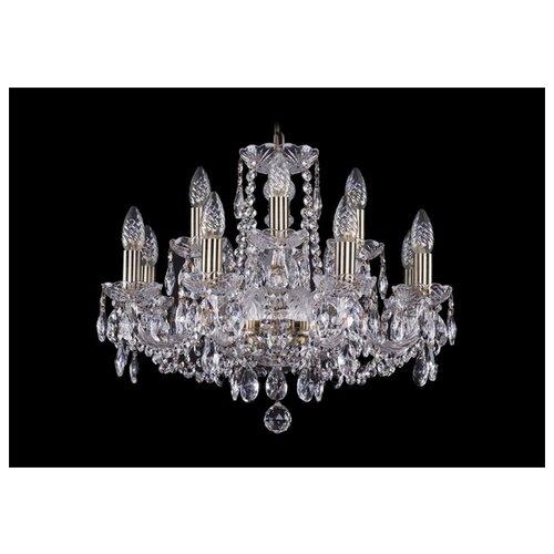 Люстра Bohemia Ivele Crystal 1402 1402/8+4/195/Pa, E14, 480 Вт люстра bohemia ivele crystal 1716 8 8 4 265b gb