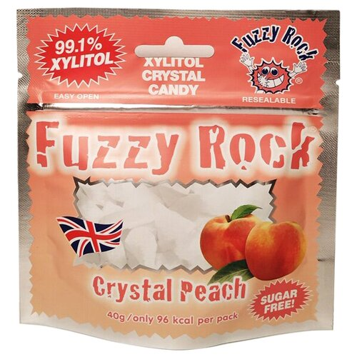 Фото - Кристаллы ксилитола Fuzzy Rock Персик 40 г fuzzy ball rhinestone drop earrings