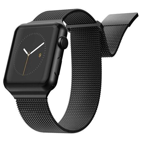 X-Doria Ремешок New Mesh Band для Apple Watch 38/40mm черный