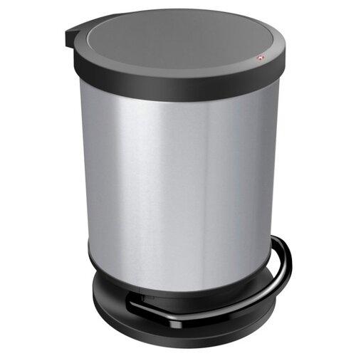 Ведро Rotho Paso 10155, 20 л серебро