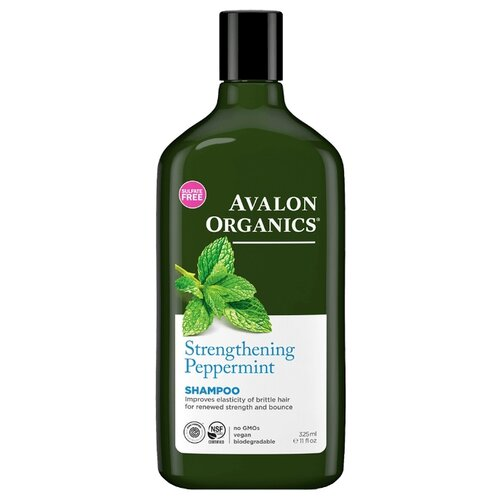 Avalon Organics шампунь Strengthening Peppermint 325 млШампуни<br>
