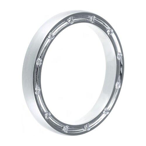 JV Кольцо с 16 бриллиантами из белого золота AAR-6636-KO-WG, размер 17.5