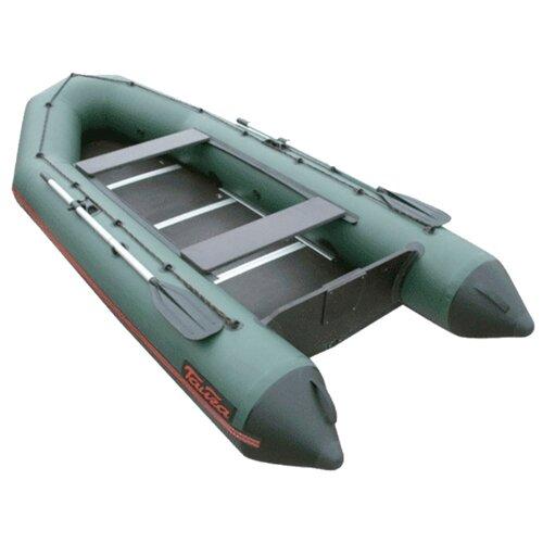 Надувная лодка Leader Тайга Т-340 К зеленый надувная лодка leader компакт 200 зеленый
