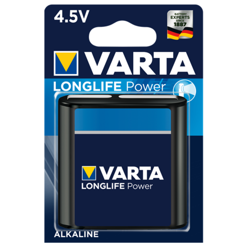 Фото - Батарейка VARTA LONGLIFE Power 3LR12 1 шт блистер батарейка varta longlife c блистер 2шт
