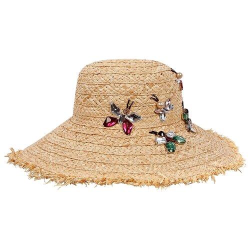 Купить Шляпа IL Trenino размер 52, бежевый, Головные уборы