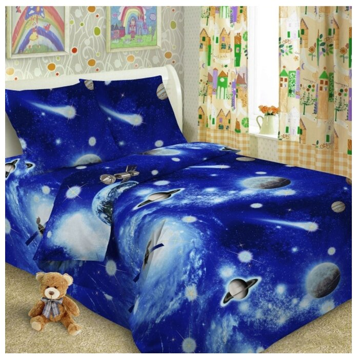 Детский комплект постельного белья Letto Home Textile Комплект детского постельного белья Letto