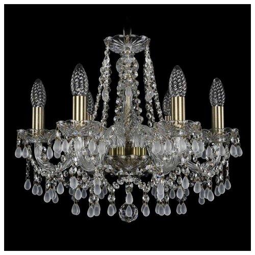 Люстра Bohemia Ivele Crystal 1410 1410/6/160/Pa/V0300, E14, 240 Вт bohemia ivele crystal 1410 6 160 ni v0300 sh2