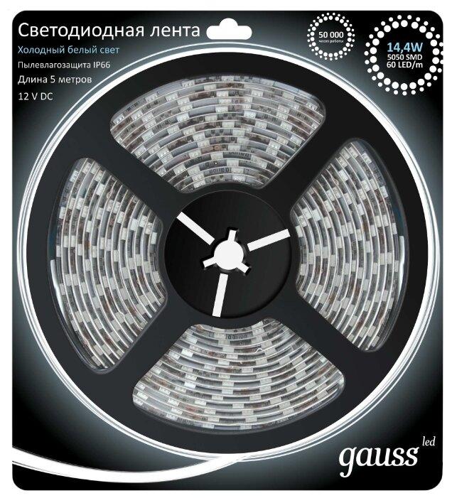 Светодиодная лента gauss 311000314 5 м
