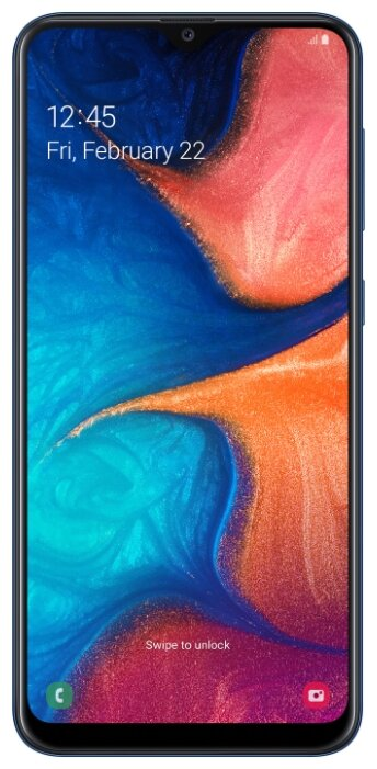 Смартфон Samsung Galaxy A20 (2019) SM-A205F 3/32Gb red