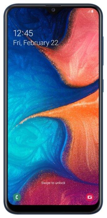 Сотовый телефон Samsung SM-A205F Galaxy A20 3Gb RAM 32Gb Blue