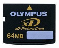 Карта памяти Olympus xD-Picture Card M-XD64P