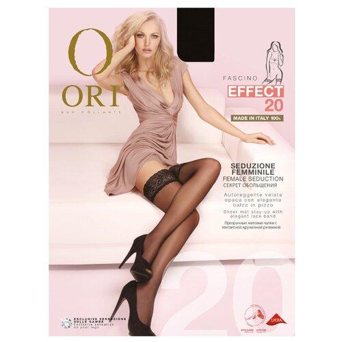 цена Чулки ORI Effect 20 den, размер 4-L, nero (черный) онлайн в 2017 году
