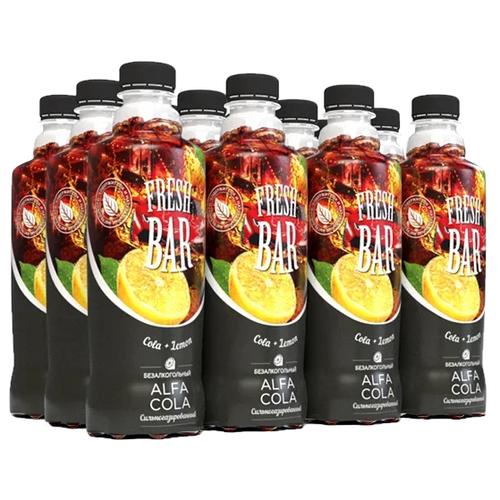 Газированный напиток Fresh Bar Alfa Cola, 0.48 л, 12 шт.
