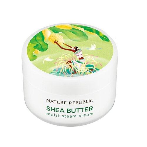 NATURE REPUBLIC Shea Butter Moist Steam Cream Увлажняющий паровой крем для лица 100 млУвлажнение и питание<br>