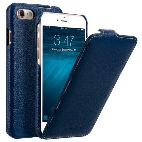 Флип-чехол Melkco Jacka Type для Apple iPhone 7/iPhone 8 темно-синий флип чехол melkco jacka type для apple iphone 7 iphone 8 темно синий
