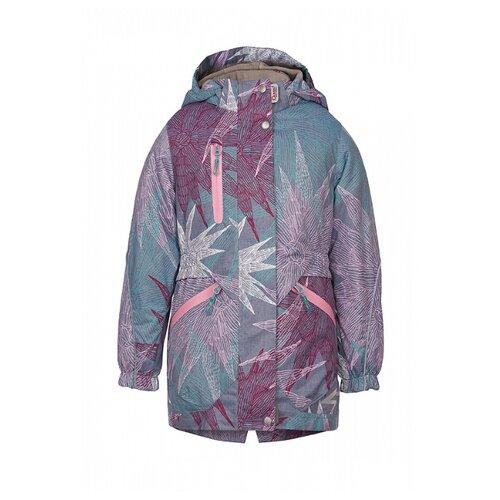 Куртка Oldos Анабель ASS202T1JK14 размер 104, сиреневый куртка для девочки jicco by oldos ирма цвет малиновый 2j8jk01 размер 104 4 года